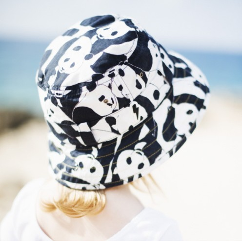 Childrens_bucket_sun_hat_in_Panda_monochrome_print_back_of_hat_lifestyle_photo_768x768_crop_center.progressive